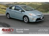 2012 Sea Glass Pearl Toyota Prius 3rd Gen Two Hybrid #63169565