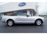 2006 Satin Silver Metallic Ford Mustang V6 Deluxe Convertible #63169691