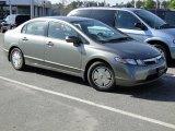 2007 Galaxy Gray Metallic Honda Civic Hybrid Sedan #63195003
