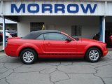2007 Torch Red Ford Mustang V6 Premium Convertible #63200357