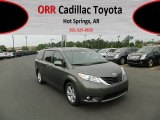 2012 Cypress Green Pearl Toyota Sienna LE #63200578
