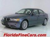2003 Steel Blue Metallic BMW 3 Series 330i Sedan #543816