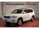 2010 Blizzard White Pearl Toyota Highlander Limited 4WD #63200751