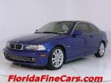 2002 Topaz Blue Metallic BMW 3 Series 330i Coupe #544136