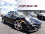 2007 Black Porsche 911 Turbo Coupe #63200261