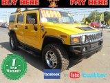 2003 Yellow Hummer H2 SUV #63200682