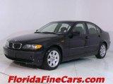 2002 Jet Black BMW 3 Series 325i Sedan #544133