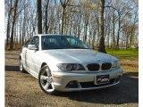 2004 Titanium Silver Metallic BMW 3 Series 325i Coupe #63200663