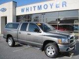 2006 Mineral Gray Metallic Dodge Ram 1500 SLT Quad Cab 4x4 #63200626
