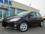 2012 Tuxedo Black Metallic Ford Focus SEL 5-Door #63200438