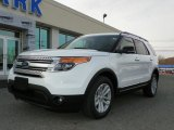 2013 Oxford White Ford Explorer XLT 4WD #63200437