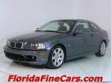 2002 Steel Blue Metallic BMW 3 Series 325i Coupe #544116