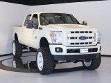 2012 White Platinum Metallic Tri-Coat Ford F250 Super Duty Lariat Crew Cab 4x4 #63243566