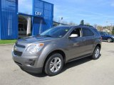 2012 Graystone Metallic Chevrolet Equinox LT AWD #63242758