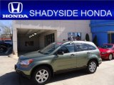 2009 Green Tea Metallic Honda CR-V EX 4WD #63242753