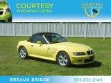 2002 BMW Z3 Dakar Yellow