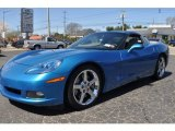 2008 Jetstream Blue Metallic Chevrolet Corvette Coupe #63243162