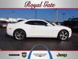 2010 Summit White Chevrolet Camaro LT/RS Coupe #63243529