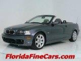 2002 Steel Grey Metallic BMW 3 Series 325i Convertible #544029