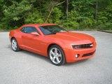 2010 Inferno Orange Metallic Chevrolet Camaro LT/RS Coupe #63243497