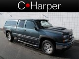 2007 Blue Granite Metallic Chevrolet Silverado 1500 Classic Z71 Extended Cab 4x4 #63243486