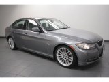2009 Space Grey Metallic BMW 3 Series 335d Sedan #63243128