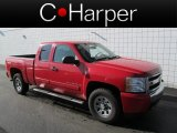 2007 Victory Red Chevrolet Silverado 1500 LT Extended Cab 4x4 #63243483