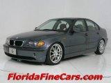 2002 Steel Grey Metallic BMW 3 Series 325i Sedan #544016