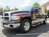 2004 Deep Molten Red Pearl Dodge Ram 1500 SLT Quad Cab #63243472