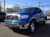 2008 Blue Streak Metallic Toyota Tundra SR5 TRD Double Cab 4x4 #63243438