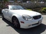 2001 Glacier White Mercedes-Benz SLK 230 Kompressor Roadster #63242616