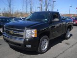 2008 Black Chevrolet Silverado 1500 LT Regular Cab 4x4 #63243404