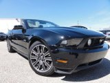 2011 Ebony Black Ford Mustang GT Premium Convertible #63242586