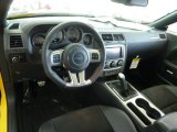 2012 Dodge Challenger SRT8 Yellow Jacket Dashboard