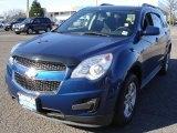 2010 Navy Blue Metallic Chevrolet Equinox LT #63242569
