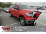 2010 Radiant Red Toyota Tundra Double Cab 4x4 #63242546