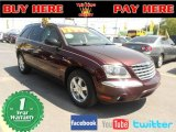 2004 Deep Molten Red Pearl Chrysler Pacifica  #63243344