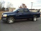 2006 Patriot Blue Pearl Dodge Ram 1500 SLT TRX Quad Cab 4x4 #63243007