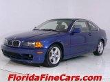 2002 Topaz Blue Metallic BMW 3 Series 325i Coupe #543868
