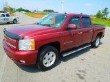 2009 Deep Ruby Red Metallic Chevrolet Silverado 1500 LTZ Crew Cab 4x4 #63243292
