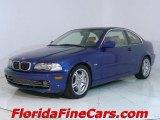 2002 Topaz Blue Metallic BMW 3 Series 330i Coupe #543857