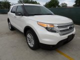 2013 White Platinum Tri-Coat Ford Explorer XLT #63242924
