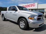 2012 Bright Silver Metallic Dodge Ram 1500 SLT Quad Cab #63242888