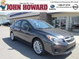 2012 Dark Gray Metallic Subaru Impreza 2.0i Premium 4 Door #63319979