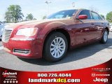 2012 Deep Cherry Red Crystal Pearl Chrysler 300  #63319646
