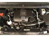 2011 Nissan Armada SV 4WD 5.6 Liter DOHC 32-Valve CVTCS V8 Engine