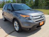 2013 Sterling Gray Metallic Ford Explorer XLT #63320276