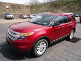 Ruby Red Metallic Ford Explorer in 2013