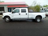 2005 Oxford White Ford F350 Super Duty Lariat Crew Cab 4x4 Dually #63320271