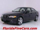 2002 Jet Black BMW 3 Series 330i Sedan #543851